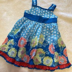 Girls floral dress 2T